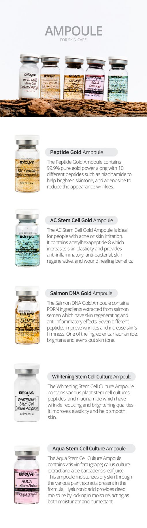 Stayve Whitening Stem Cell Culture Ampoule   Best BB Cream