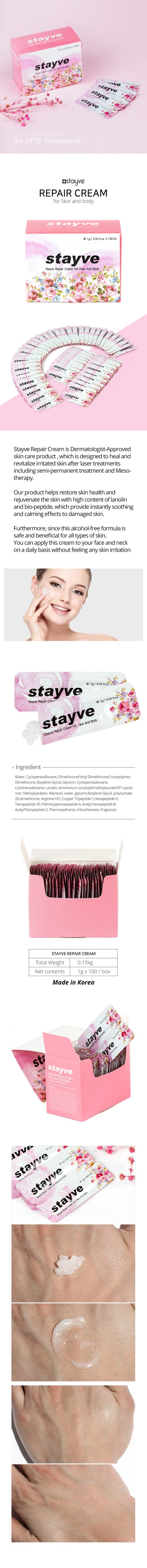 Best Skin Repair Cream for Face | Stayve Repair Cream | BB Glow UK